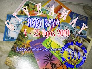 Giveaway Hari Raya kakyong[dot]com
