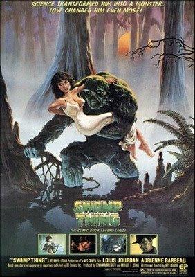 Monstro do pantano o filme
