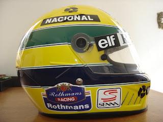 Capacete do Airton Senna