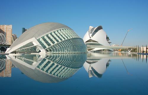 Decir silencioso santiago calatrava arquitecto valencia for Arquitectos valencia