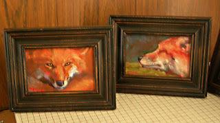 Red Fox Paintings