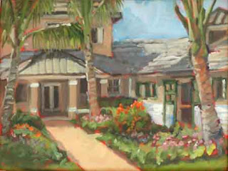 Painting of HnD Stable in Wellington, FL