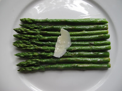 Asparagus in Lemon, Garlic, and Olive Oil