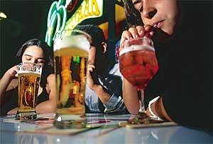 Tratamento de alcoólico muito bebida