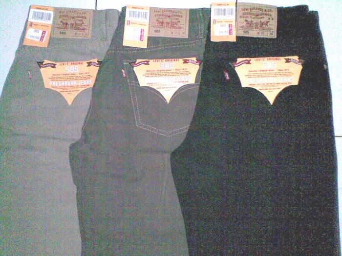jeans levis 505, 501, copper