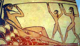 Ulises cegando a Polifemo