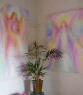 Angel Art by Glenyss Bourne at Sanctuary Angel Gallery