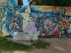 En la Plaza de las Artes y las Flores...