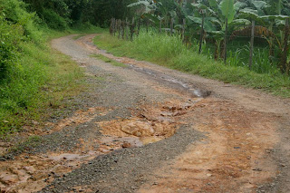 Waiting Ten Year's For Better Roads at Kg Kionsom Baru, Tamparuli