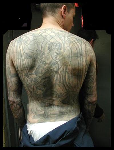 michael scofield tattoo. tattooed Michael Scofield