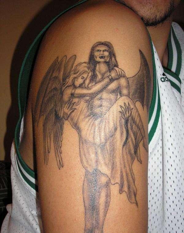 tatatatta best angel tattoos. Black Bedroom Furniture Sets. Home Design Ideas