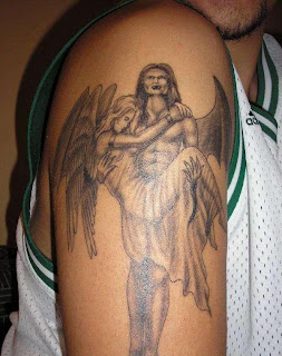 Angel Tattoos Arm
