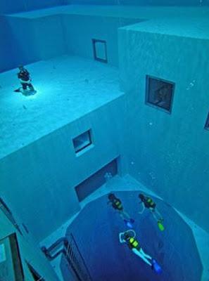 La picina mas grande del mundo: Nemo 33