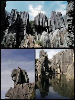 El Shilin, un bosque de piedras en China