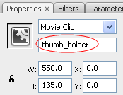 instance name of the movieclip