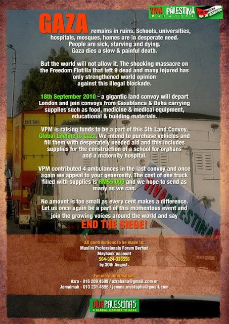 Viva Palestina Convoy to Gaza