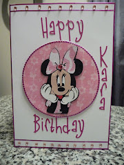 Front Of minnie bday
