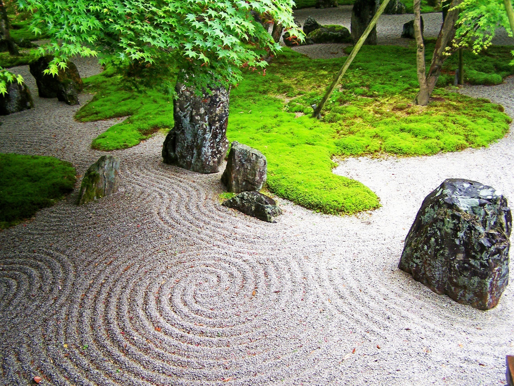 Japan bike adventure so much to see don 39 t forget your camera for Japanese zen garden design