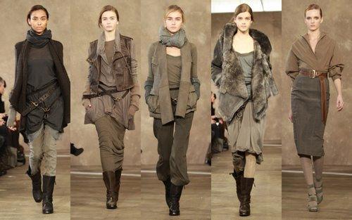 Winter style fashion show