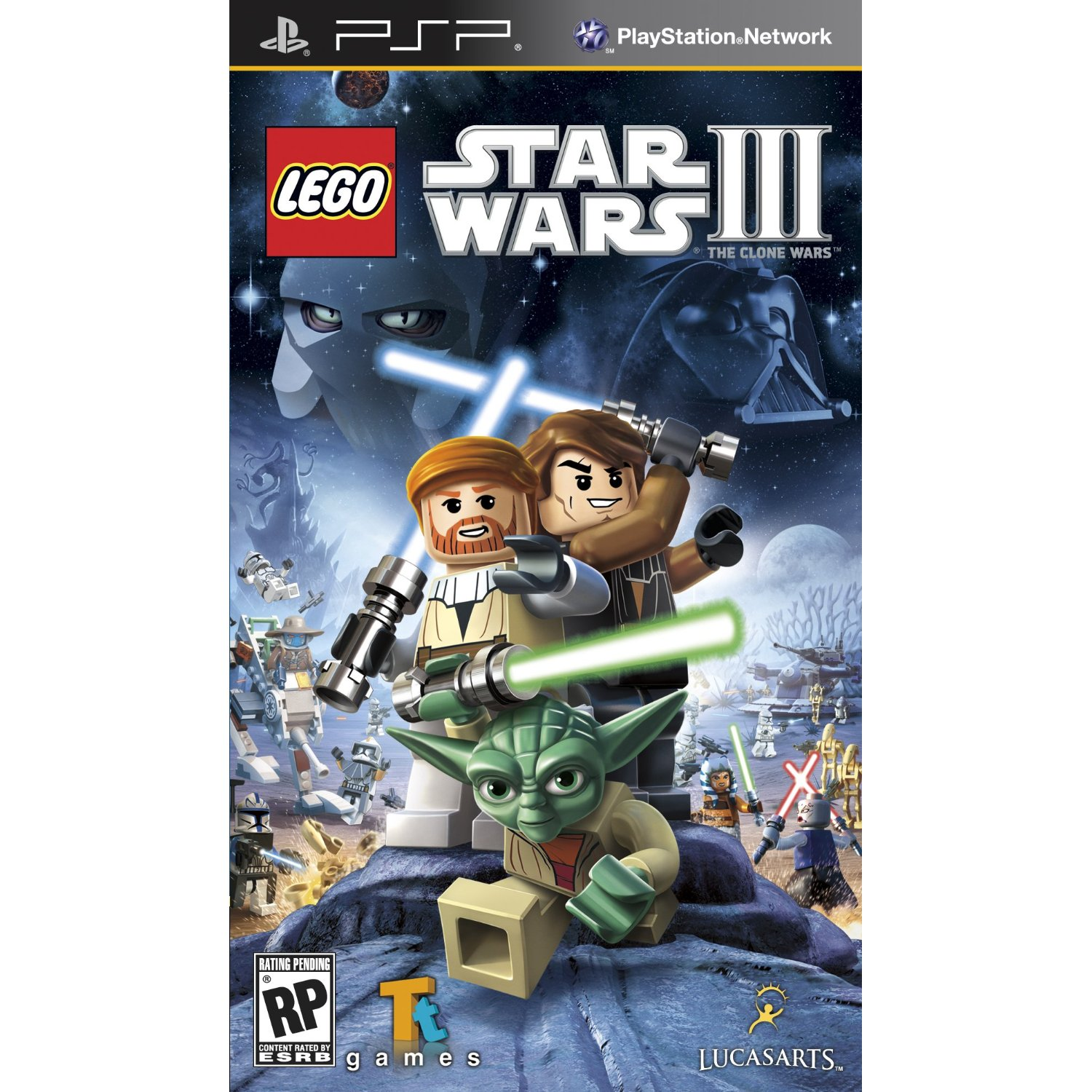 Lego star wars iii the clone wars psp game insights
