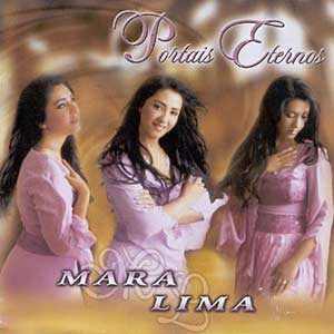 Capa do CD Playback Mara Lima   Portais Eternos
