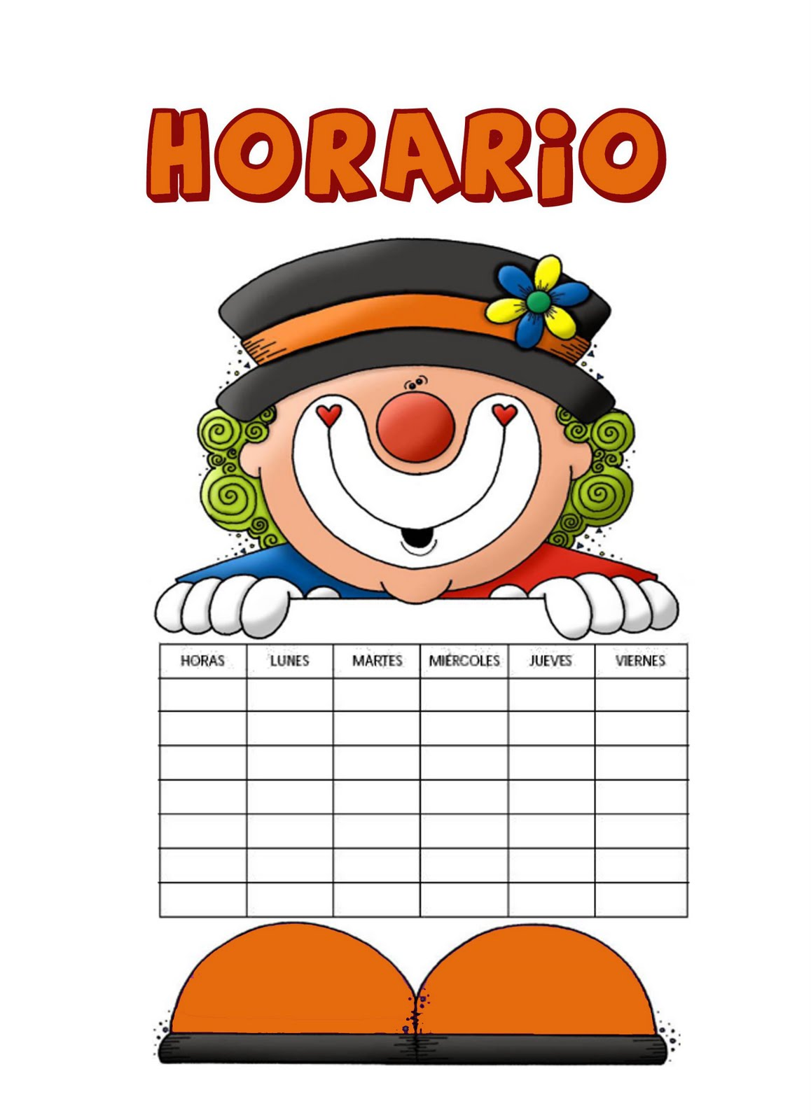 Horario tutorias y reuniones de 3 b infantil cpeip san for Cartel comedor infantil