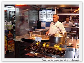 Comida típica de Estambul Turquía