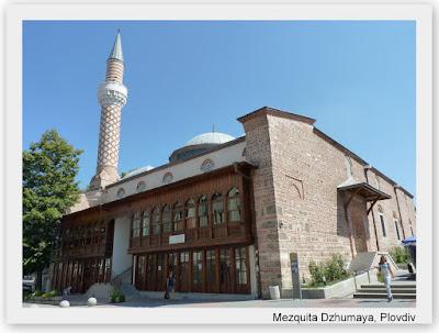 mezquita dzhumaya, plovdiv