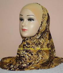 Tudung Syria Corak (Lycra) RM26 sepasang (free postage)
