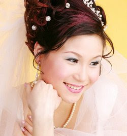 Bridal And Wedding Hairstyles With Asian Models
