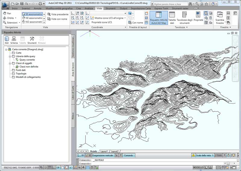 Il blog italiano di autocad map e civil 3d da curve di for Cad 3d free italiano