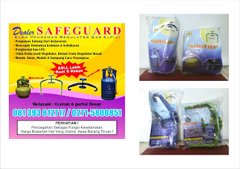 SAFEGUARD Klem Pengaman Regulator ELPIJI