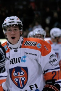 Finnish playmaker Jori Lehtera led Tappara in scoring this year, and is currently playing on an ATO contract in Peoria