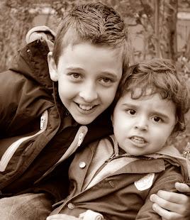 Luciano e Mikail