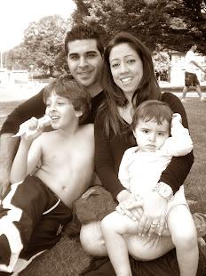 Serkan, Paula, Luciano e Mikail