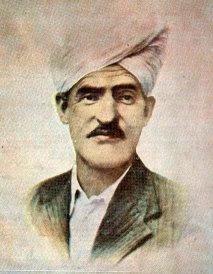 Photograph of Kashmiri Poet Mahjoor