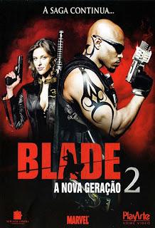 capa+blade+2 Blade   A Nova Geração 2   DVDRip   Dual Audio