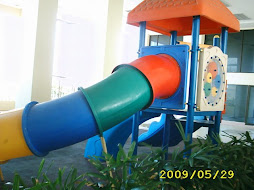 Outdoor Children's slide