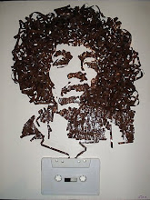 Jimi Hendrix out of cassette