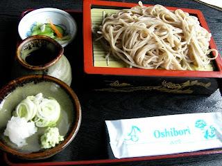 道の駅田沢の蕎麦