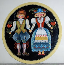 Decorative painting.     (folkart/tole painting)