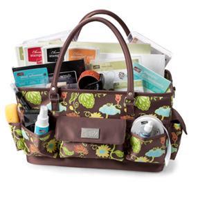 Promotion : devenez démonstratrice avant le 18 octobre et recevez ce sac fourre-tout!