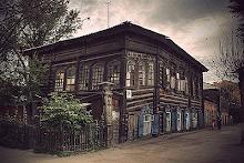 huis ergens in Siberië