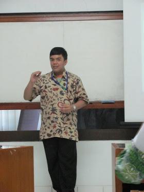 Saat Presentasi tentang Bank Indonesia