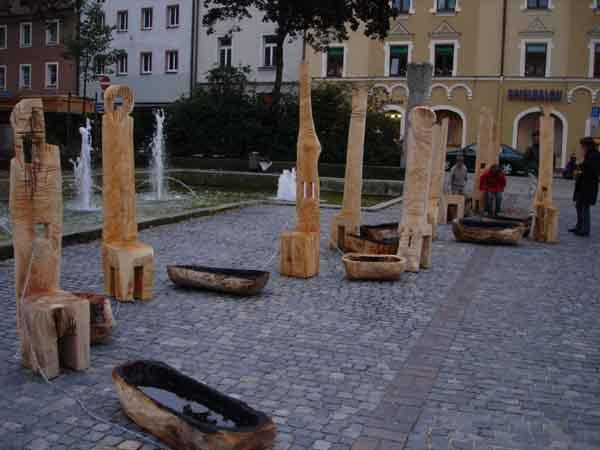 Art in Public space Donumenta festival Regensburg 2005