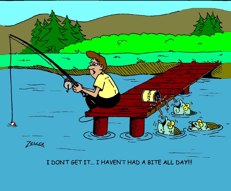 Zelltoons cartoons by gary zeller blog cartoon of the week for Funny fishing cartoons