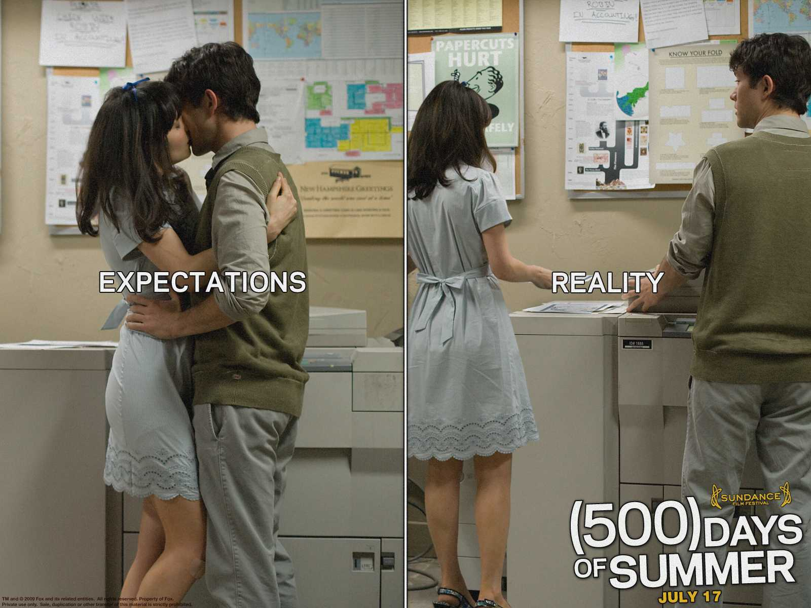 an analysis of the relationship of tom and summer in the movie 500 days of summer (500) days of summer is a story of boy meets girl the movie review: '(500) days of summer' by christopher orr july 24, 2009 we see the central relationship through tom's eyes exclusively.