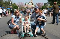 Disneyland April 2008