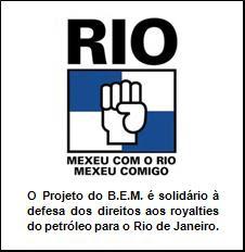 Contra covardia em defesa do Rio