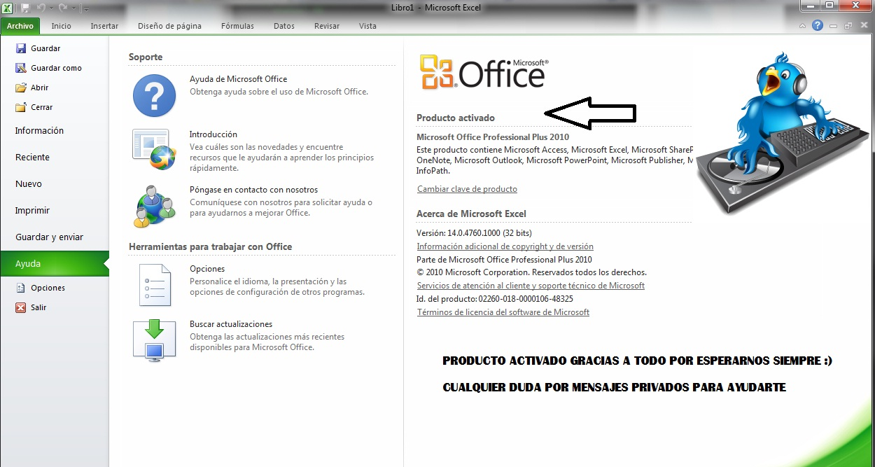 Tutorial de como activar office 2010 + Video